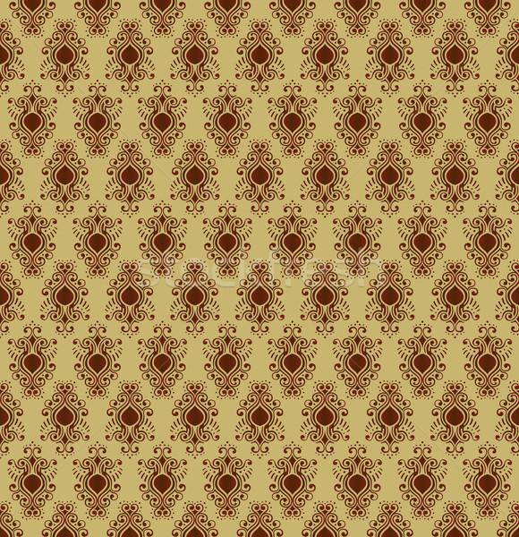 Régi tapéta egyedi textúra szépség művészet tapéta Stock fotó © feverpitch