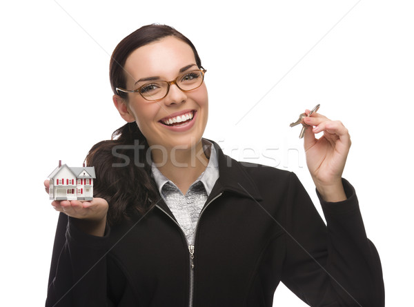 Femenino claves pequeño Foto stock © feverpitch