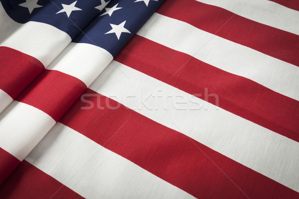 American Flag Abstract Stock photo © feverpitch