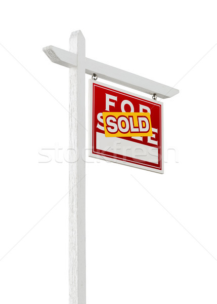 Direito vendido venda imóveis assinar Foto stock © feverpitch