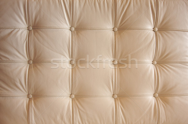Comfortable Buttoned Leather Pattern Stock photo © feverpitch