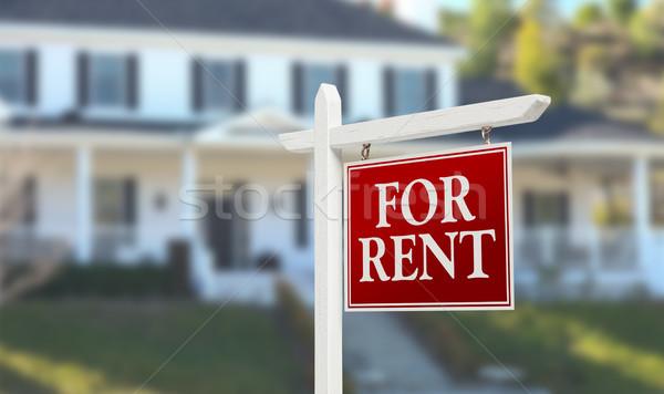 家賃 不動産 にログイン 美しい 家 ホーム ストックフォト © feverpitch