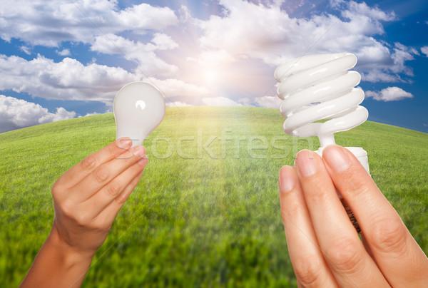 женщины рук энергии регулярный Сток-фото © feverpitch