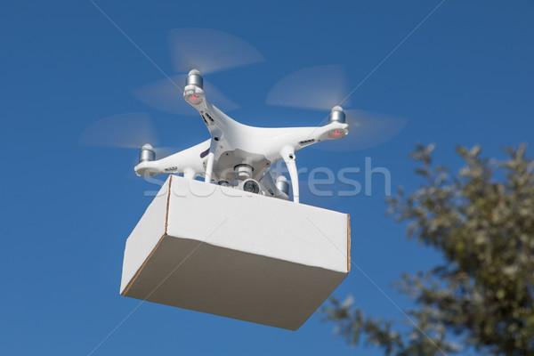 Aeromobili pacchetto aria cielo piano Foto d'archivio © feverpitch