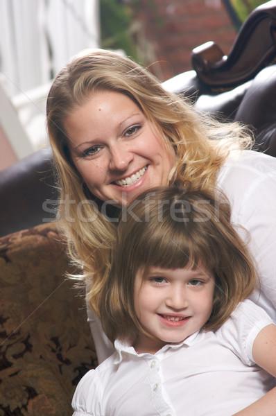 Giovani madre figlia personale momento Foto d'archivio © feverpitch