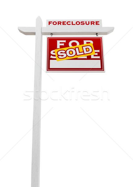 Preclusione venduto vendita immobiliari Foto d'archivio © feverpitch