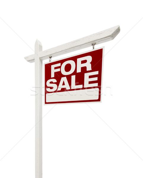 Casa venda imóveis assinar direito Foto stock © feverpitch