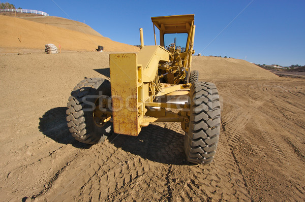 Tractor at a Construction Site Stock photo © feverpitch