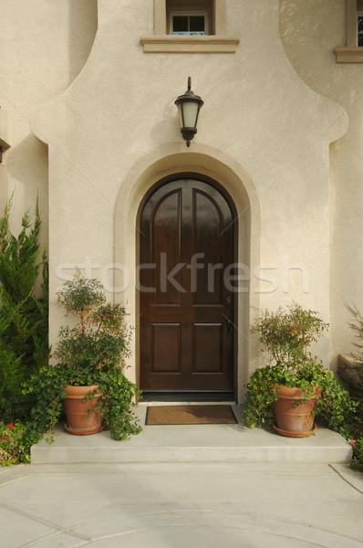 Home Doorway and Patio Stock photo © feverpitch