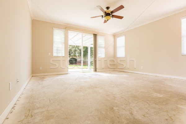 Room with Cement Floors Stock photo © feverpitch