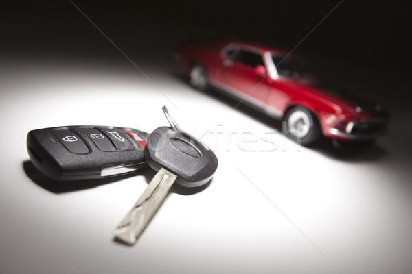 車のキー スポーツカー スポット 光 技術 セキュリティ ストックフォト © feverpitch