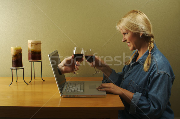 The Glory of the Internet Series - Internet Dating Stock photo © feverpitch