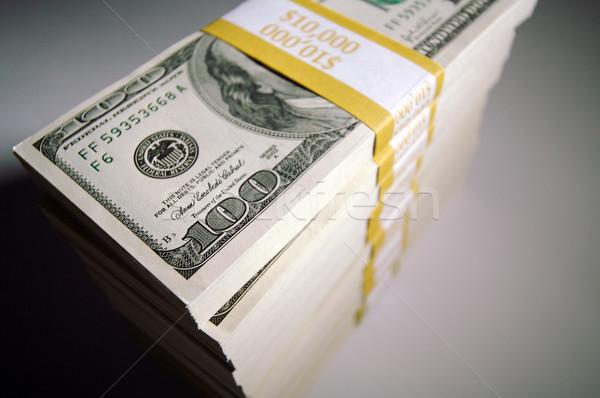 Stacks of One Hundred Dollar Bills Stock photo © feverpitch