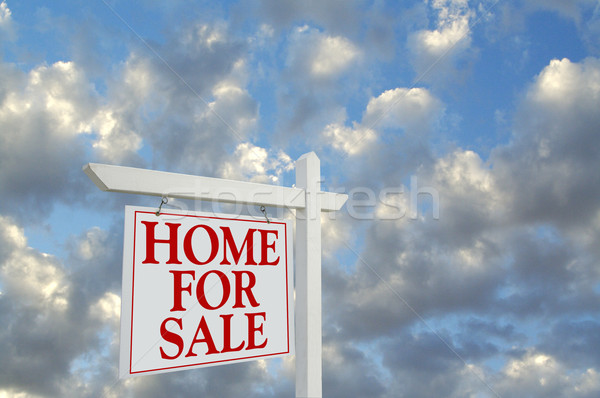 Home For Sale Sign Stock photo © feverpitch