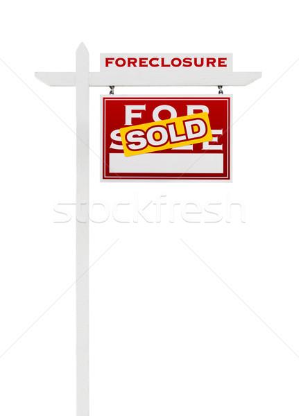 Doğru karşı cebri icra satış gayrimenkul Stok fotoğraf © feverpitch