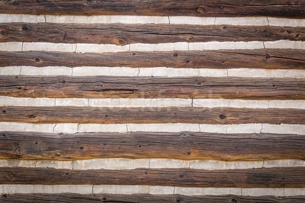 Streszczenie vintage antyczne kabiny ściany Zdjęcia stock © feverpitch