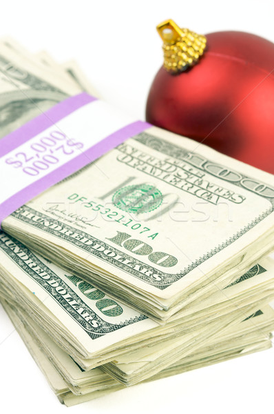 Money and Ornament Stock photo © feverpitch