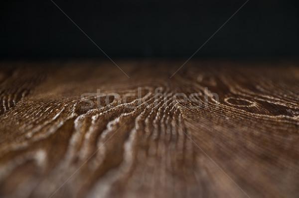 Fából készült felület keskeny mező absztrakt padló Stock fotó © feverpitch