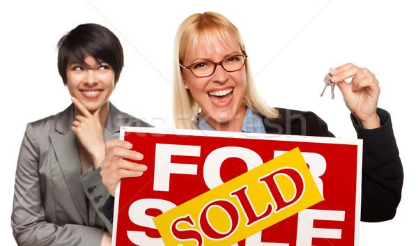 女性 キー 販売 ストックフォト © feverpitch