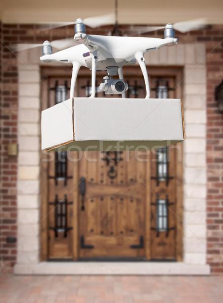 航空機 パッケージ 家 空 ホーム 技術 ストックフォト © feverpitch