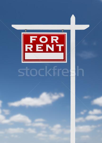 向い 家賃 不動産 にログイン 青空 雲 ストックフォト © feverpitch
