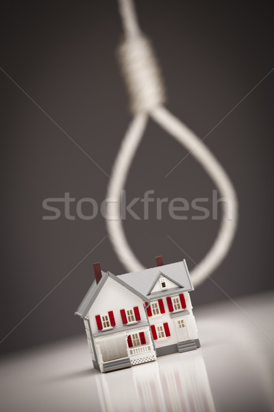 House with Hangman's Noose in Background Stock photo © feverpitch
