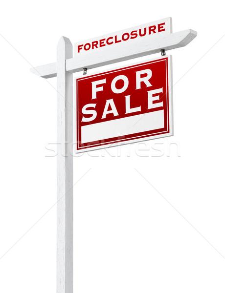 Helyes szemben zálogjog érvényesítése eladva vásár ingatlan Stock fotó © feverpitch