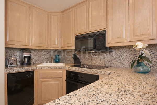 Modern Kitchen Interior Stock photo © feverpitch