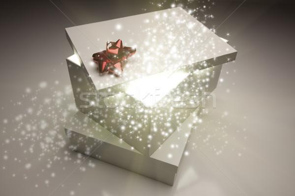 Crăciun cadouri luminos Imagine de stoc © feverpitch