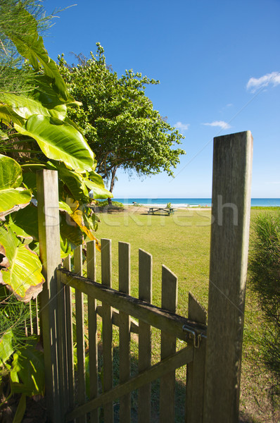 Gate to the Ocean Stock photo © feverpitch