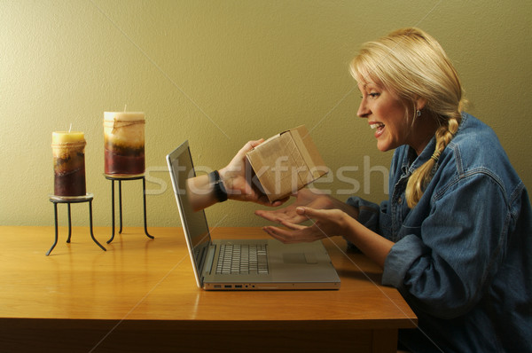 The Glory of the Internet Series - E-commerce Stock photo © feverpitch