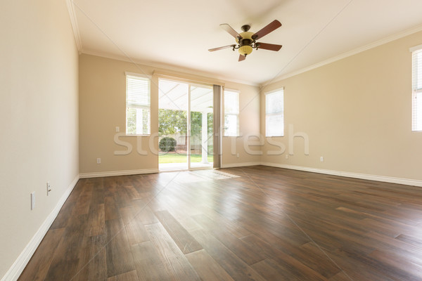 Room with Finished Wood Floors. Stock photo © feverpitch