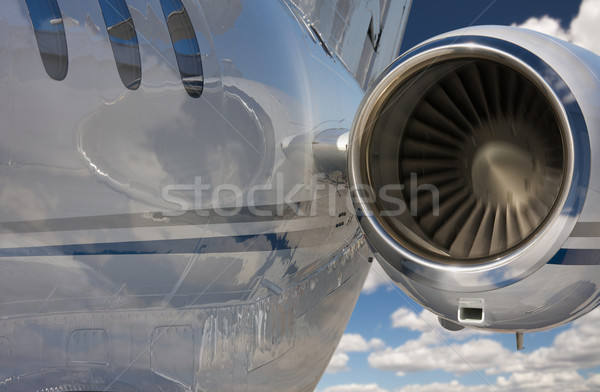 Private Jet Abstract Stock photo © feverpitch