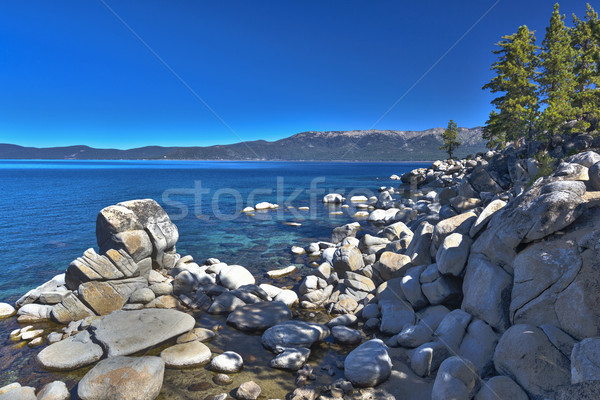 Beautiful Shoreline of Lake Tahoe Stock photo © feverpitch