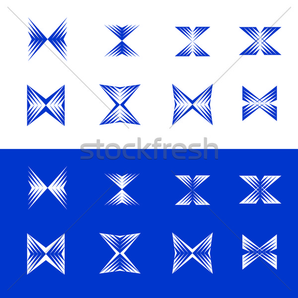 Dynamisch ontwerp communie universeel abstract berg Stockfoto © feverpitch