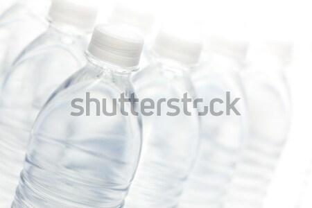 Zdjęcia stock: Wody · butelek · streszczenie · biały · kopia · przestrzeń · odwracalny