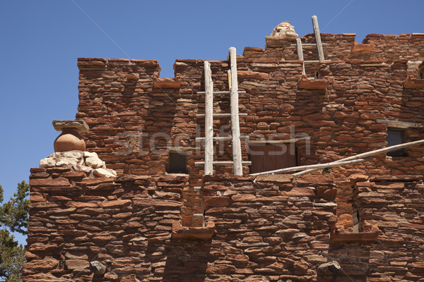 Southwestern Hopi House 1905 Architecture Abstract Stock photo © feverpitch