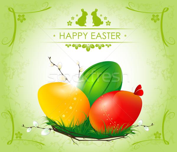 Happy Easter Stock photo © FidaOlga