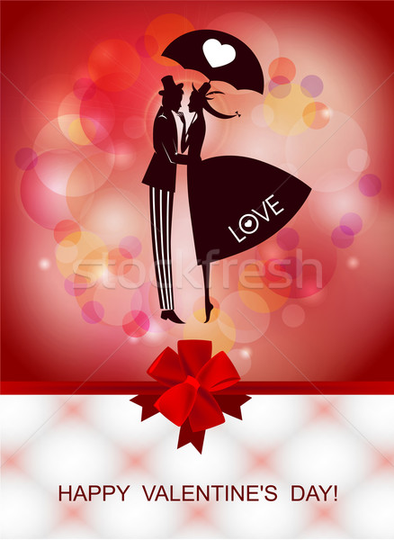 Happy Valentine's day Stock photo © FidaOlga