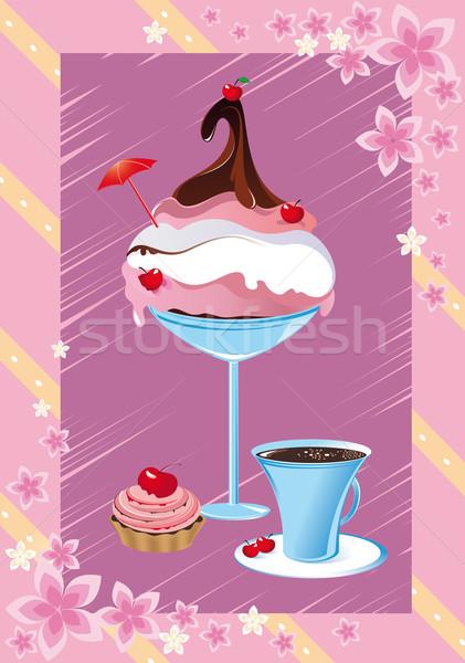 Delicious desserts Stock photo © FidaOlga
