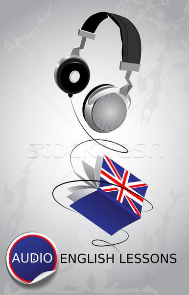 Audio English lessons Stock photo © FidaOlga