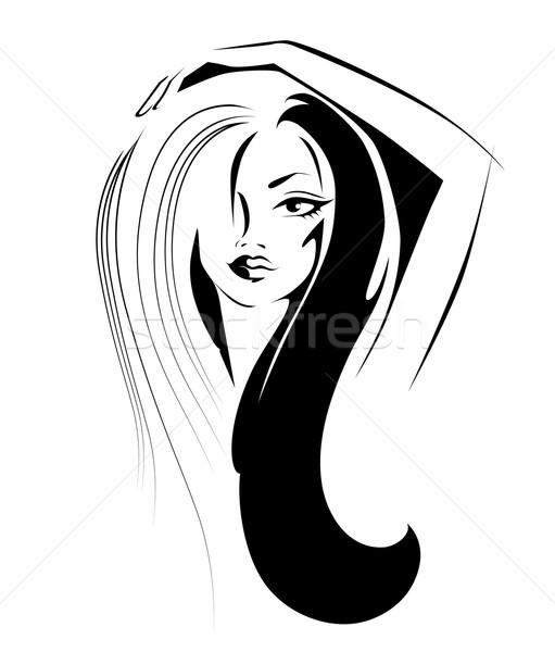 Portrait of a woman Stock photo © FidaOlga