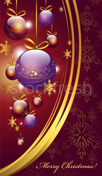 Christmas background Stock photo © FidaOlga
