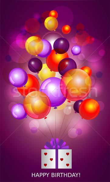 Happy birthday Stock photo © FidaOlga