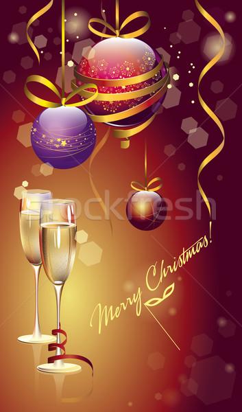 new year background Stock photo © FidaOlga