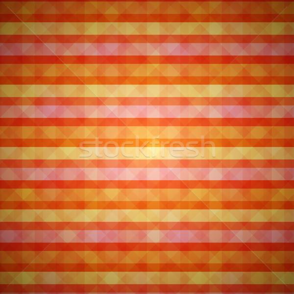 Vecteur modèle orange propre rouge Photo stock © filip_dokladal