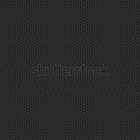 Vector geometrisch patroon donkere schone meetkundig Stockfoto © filip_dokladal