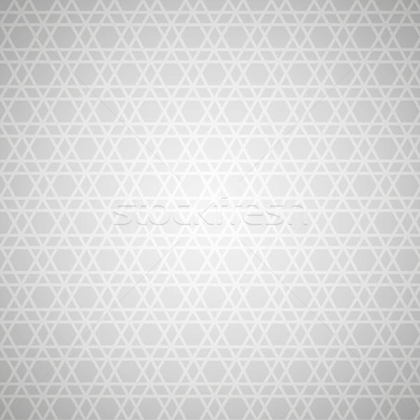 Stockfoto: Vector · star · patroon · schone · licht · abstract