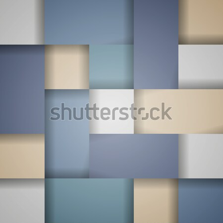 вектора аннотация синий бежевый чистой пастельный Сток-фото © filip_dokladal