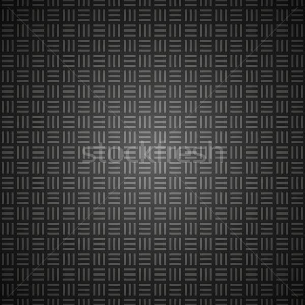 Vector abstract patroon zwart wit schone eenvoudige Stockfoto © filip_dokladal